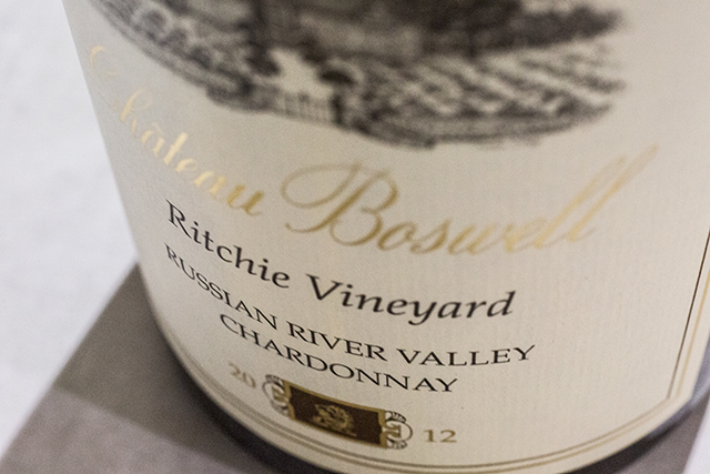 Chateau Boswell Chardonnay Ritchie 2012