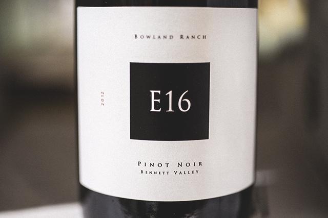 E16 Pinot Noir 2012