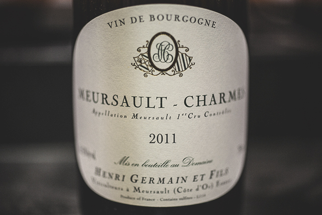Henri Germain Meursault-Charmes Premier Cru 2011