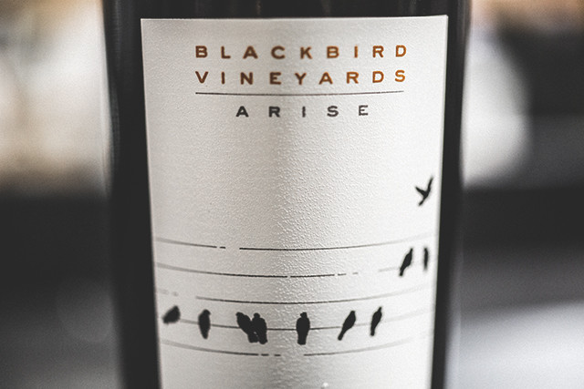 Blackbird Arise Napa Valley 2012