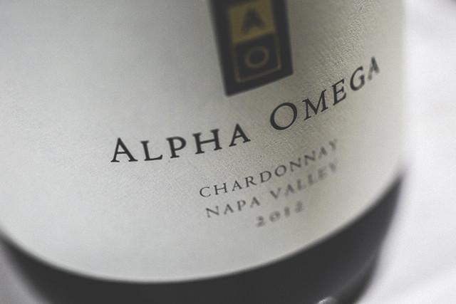Alpha Omega Chardonnay Napa Valley 2012