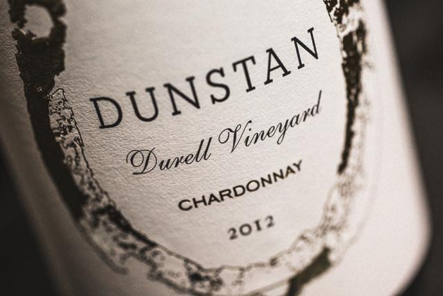 Dunstan Chardonnay Sonoma Coast Durell 2012