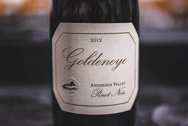 Goldeneye Pinot Noir Anderson Valley 2012