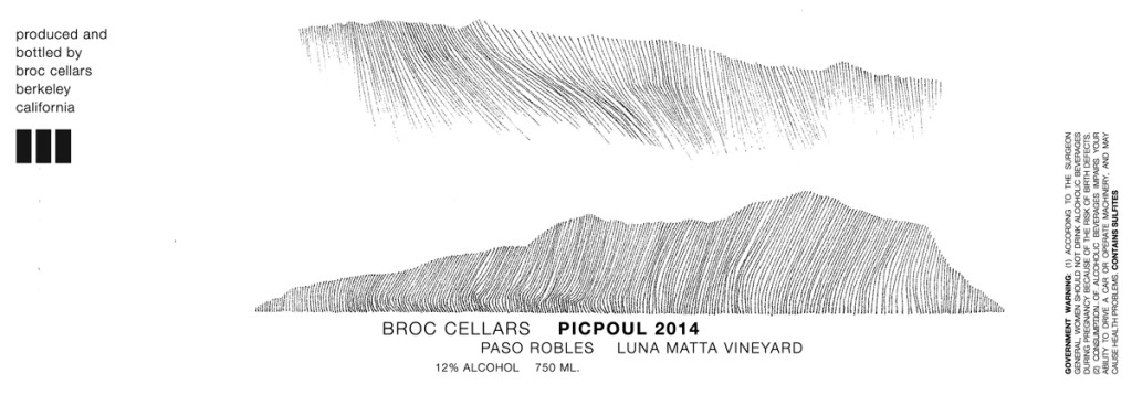 Broc Cellars Picpoul  sc 1 st  California Wine Advisors & Wine Label Hall of Fame: Broc Cellars | California Wine Advisors