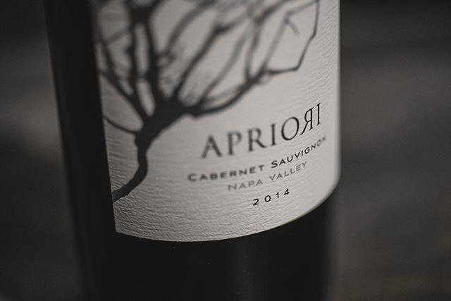Apriori cabernet Sauvignon Napa Valley 2014